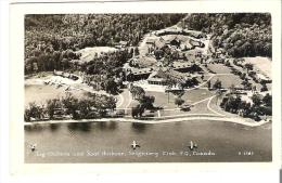 Log Chateau And Boat Harbour, Seigniory Club, Quebec  Photo Veritable - Quebec