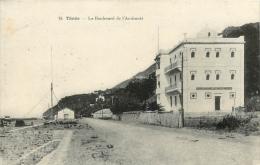 TENES LE BOULEVARD DE L'AMIRAUTE - Algérie