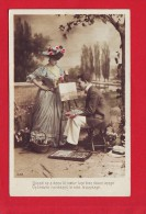 5306 - CPA CARTE POSTALE  PHOTOGRAPHIE FEMME HOMME ARTISTE PEINTRE MODELE - Libri