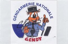 Auto-collant;GENDARMERIE  NATIONALE  // GENDY - Police