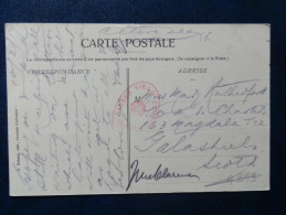 A3093  CP   1917   DE NORMANDIE  CENSURE   ANGLAISE . - Oorlog 1914-18