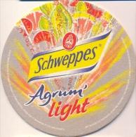 #D71-021 Viltje Schweppes - Sous-bocks