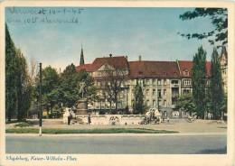 CPSM Magdeburg-Kaiser Wilhelm Platz   L1344 - Magdeburg