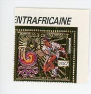 Centrafrique-1988--Tenis-JO Séoul-Timbre OR-YT A381***MNH - Verano 1988: Seúl