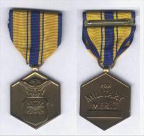 Médaille Du Mérite Militaire ( US Air Force - Commendation Médal ) - Stati Uniti