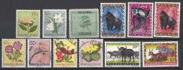Ruanda-Urundi - Interessantes Los Mit Gestempelten Marken, Siehe Guten Scan - Ruanda-Urundi