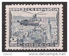 ES689SGDEV-L3989TCO.España.Spa In. Espagne.AUTOGIRO LA CIERVA 1935  (Ed 689**) Sin Charnela.SUPER LUJO - Celebridades