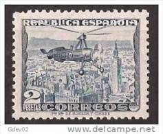 ES689SGDEV-L3989TARO.España .Spain.Espagne.AUTOGIRO LA CIERVA 1935  (Ed 689**) Sin Charnela.SUPER LUJO - Arquitectura