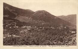 30 - Concoules - Vue Générale Et Le Mont Lozère - 47682 - Unclassified
