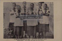 DAHOMEY - Mission Africaines De Lyon - Les Petits Choristes De Porto-Novo. - (voir Scan). - Dahomey