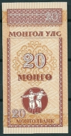 MONGOLIA 1993 20 MONGO P50 UNC -G - Mongolia