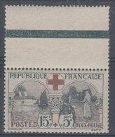 1918  Y&T N° 156  Au Profit De La + Rouge BDF** (MNH-NSC) - Nuevos