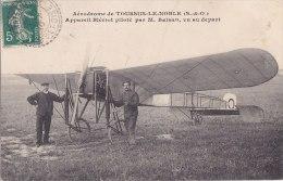 ¤¤  -  TOUSSUS-le-NOBLE  -  Aérodrome  -  Appareil Blériot Piloté Par M. BALSAN    -  ¤¤ - Toussus Le Noble