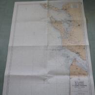 Carte Marine : Pointe Des Baleines (Ile De Ré) / Etang D'Hourtin - 1 / 125 620ème - 1975. - Cartes Marines