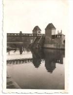 WW2 PHOTO ORIGINALE ALLEMANDE Zerstörte Brücke Pont MAASTRICHT Nederlanden - 1939-45