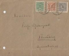 Schleswig Brief Mif Minr.1,2,3 Flensburg 24.2.20 - Deutschland