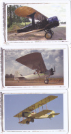 3 Phonecards South Africa Classic Planes Used - Other - Africa