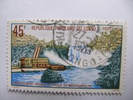 2-2918 Centrale Hydroelectrique Electricité Barrage Congo - Water