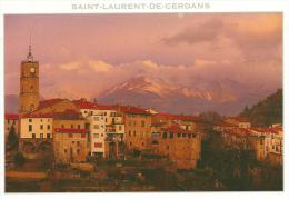 R: Pyrénées : Orientale :  SAINT  LAURENT  De  CERDANS  : Vue  Lever  Du Jour  2001 - Unclassified