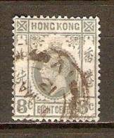 HONG  KONG.    .1912     .Y&T N°  103 Oblitéré   . - Hong Kong (...-1997)