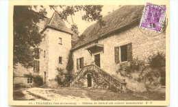 47* VILLEREAL Chateau De Born - Autres Communes