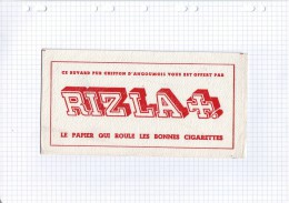 3 - BUVARD CIGARETTE TABAC PAPIER RIZ LA CROIX - Tobacco
