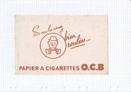 7 - BUVARD CIGARETTE TABAC PAPIER OCB - Tabac & Cigarettes