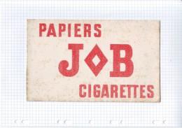 9 - BUVARD CIGARETTE TABAC PAPIER JOB - Tabac & Cigarettes