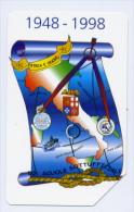 MARINA MILITARE 50° Anniversario Scuole Sottufficiali Della Marina Taranto E La Maddalena Lire 5000  RARISSIMA - Barche