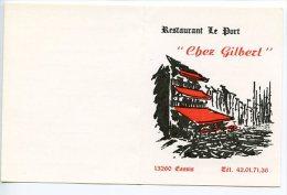 "CASSIS - Restaurant Le Port ""chez Gilbert"" (2 Scan) - Cassis"
