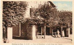 91   MORSANG - Sur - ORGE             Parc    Beauséjour        Café    Tabacs  Des Tilleuls - Morsang Sur Orge