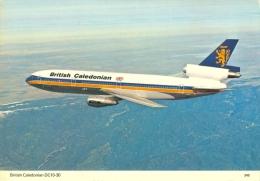 AK Flugzeug British Caledonian Airways DC10-30 BR BCA McDonnell Douglas Aircraft Airplane Avion Aviation Aeroplane Aereo - 1946-....: Moderne