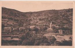 Chanéac-  ** Belle Carte ** Plate - Ed J Valette - Année 1947 - Frankreich
