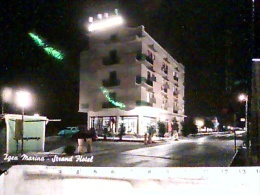 IGEA  MARINA  STRAND HOTEL BY NIGHT VB1961 EF154 - Rimini