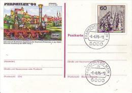 PSO 10  FERPHILEX´85  WSt.XIXWeltpostkongreß Hamburg 1984 - Postkarten - Gebraucht