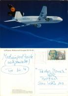 "AK Flugzeug Lufthansa McDonnell Douglas DC 10-30 LH DLH WDR ""Tor Des Monats"" Airplane Aeroplane Avion Aviation Aereo - 1946-....: Moderne"