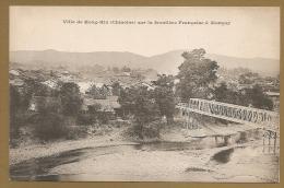 BELLE C.P.A PRECURSEUR  DE CHINE - Ville De Hong - Hin (Chinoise) Sur La Frontière Française à Monçay - China