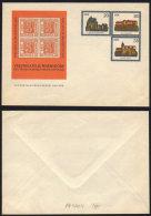 ALLEMAGNE DE L EST - WERMSDORF - TIMBRE SUR TIMBRE / 1984 ENTIER POSTAL PRIVE ILLUSTRE (ref 3087) - Private Covers - Mint