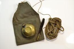 Trousse De Nettoyage Mauser Yougoslave VZ24. Huilier + Pochette + Corde + Brosse - 1939-45