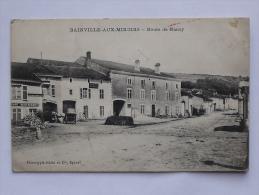 BAINVILLE-AUX-MIROIRS (54): Carte Postale Ancienne  Route De Nancy - Francia