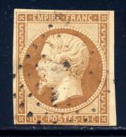 France  14  (o)  Used  Sound - 1852 Luigi-Napoleone