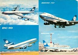 AK Flugzeug Sabena Belgian Airlines Boeing B 707 737 747 DC-10 SN SAB Belgium Airplane Aeroplane Aviation Avion Aereo - 1946-....: Era Moderna