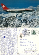 AK Flugzeug Swissair Airbus A-310-221 Schweiz Switzerland SUISSE Airplane Avion Aeroplane Aviation Aereo Flieger - 1946-....: Moderne