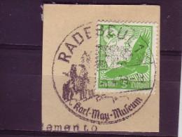 KARL MAY-MUSEUM-INDIANS-POSTMARK-RADEBEUL-LUFTPOST-EAGLE-GERMANY-1939 - American Indians