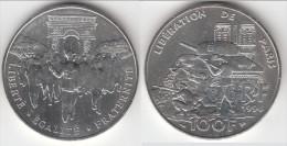 **** 100 FRANCS 1994 LIBERATION DE PARIS ARGENT **** EN ACHAT IMMEDIAT !!! - France