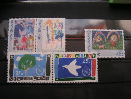 == NZ Kunst Kinder 1986  ** MNH €  5,70 - Neuseeland