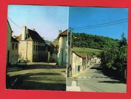 BLIGNY-SUR-OUCHE ( Côte D´Or )  Rue Du Pont Et Rue De L'Église - Frankrijk