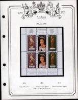 ANNIVERSAIRE DU COURRONNEMENT DE LA REINE - CORONATION ANNIVERSARY - 5 ALBUMS - TIMBRES ET BLOCS NEUFS MNH - Collections (en Albums)