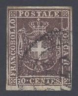 ITALIE - 1860 - TOSCANE -  GOUVERNEMENT PROVISOIRE -  N° 19 - OBLITERE - TB - - Toscane