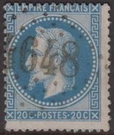 *RARE* GC 4648 (Bèze, Côte D´Or (20)), Cote 67.5€ - Marcophilie (Timbres Détachés)